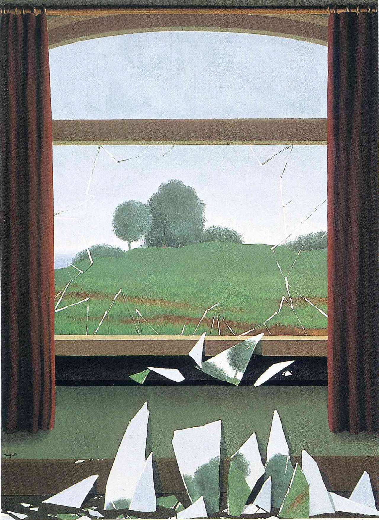 The Key to the Fields, 1936 Rene Magritte
