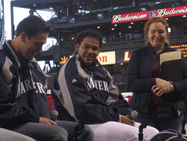 Dobbs, Felix, and Felix's interpreter