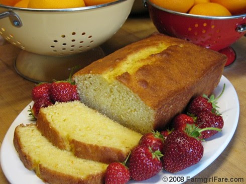 Easy Orange Yogurt Loaf Cake