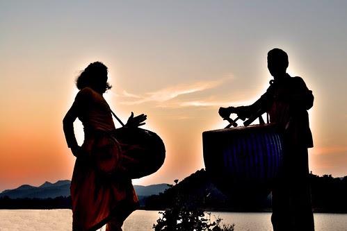 ঢাকের তালে (On the Beats of The Drums) [Explored] by Biswajit_Dey