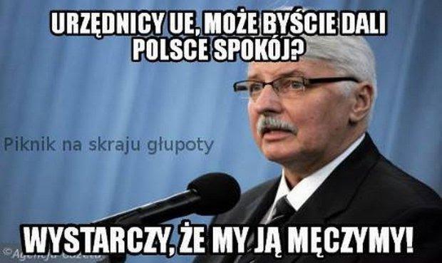 Znalezione obrazy dla zapytania memy z UE