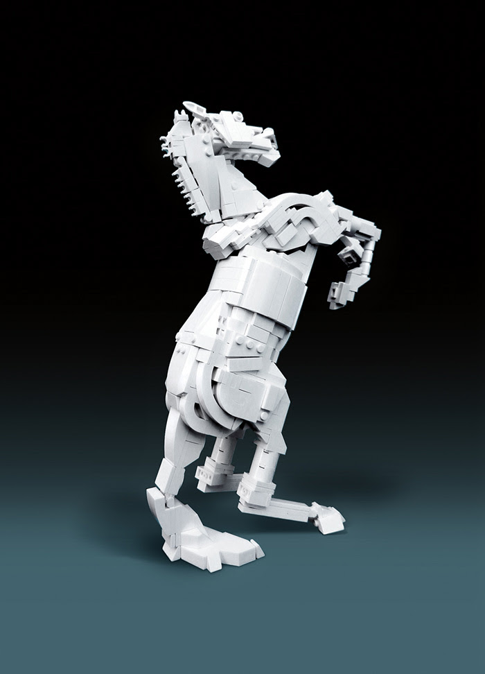 Beautiful LEGO: A New Book About the Art of LEGO by Mike Doyle sculpture Lego books