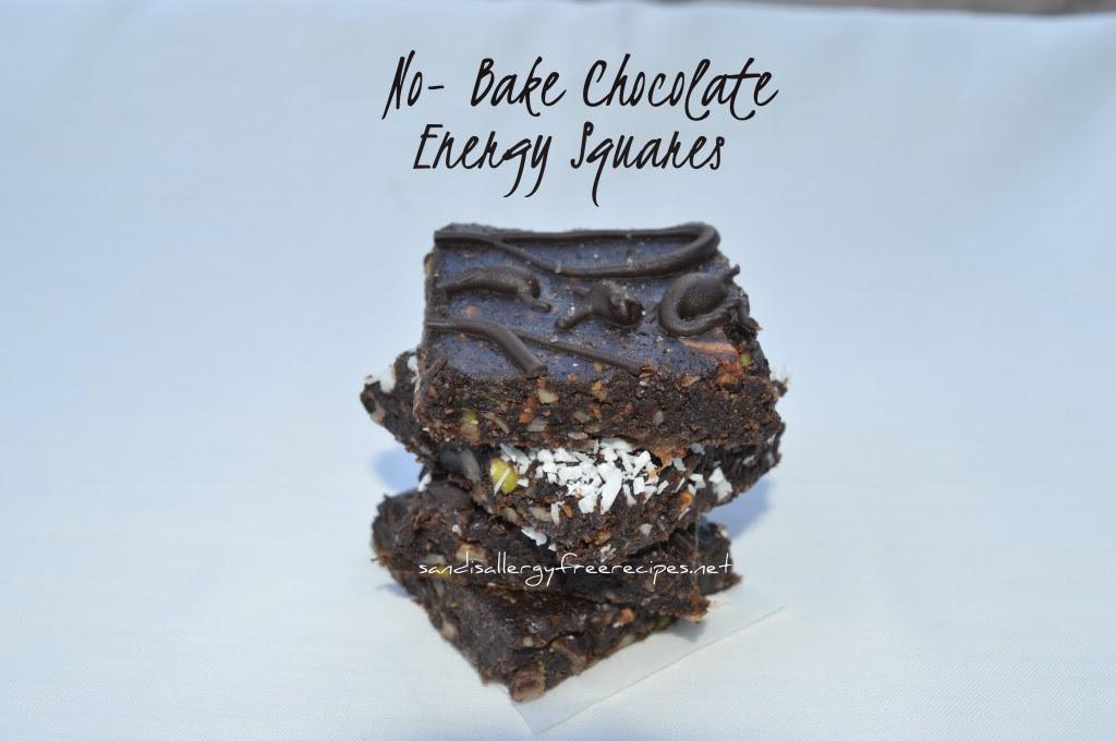 No-Bake Chocolate Energy Squares