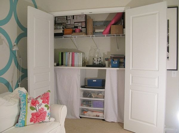 How to organize closets in a small space