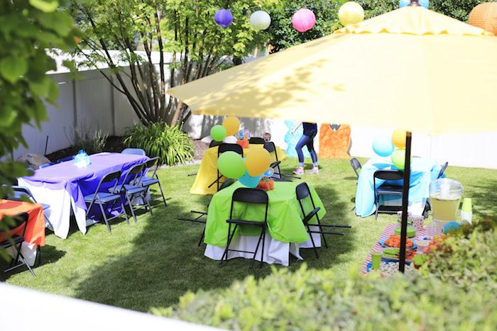 Little Monster Birthday Party on Kara's Party Ideas | KarasPartyIdeas.com (9)