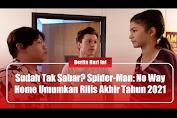 Sudah Tak Sabar? Spider-Man: No Way Home Umumkan Akan Rilis Akhir Tahun 2021