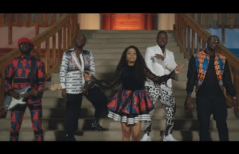 Download or Watch(Official Video) Nandy ft Sauti sol - Kiza kinene