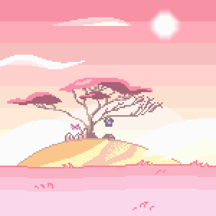 getting back into pixel work … my favorite artistic medium ♡ actual size: