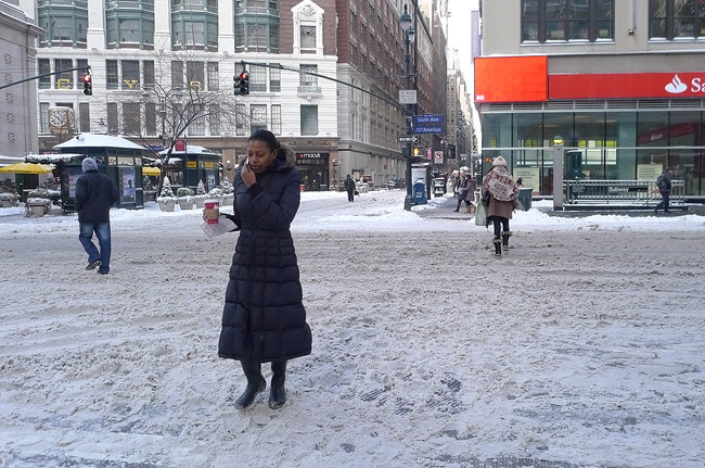 Snow, nyc