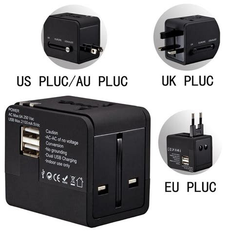 lumiparty euukusau plug multifunctional universal world