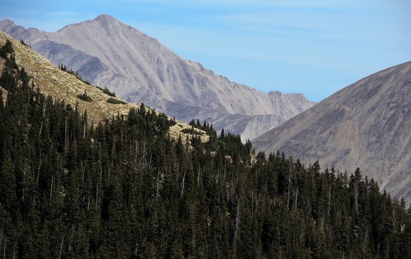 14,197-foot Mount Princeton, Sawatch Range, Colorao