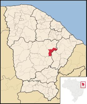 Localização de Banabuiú