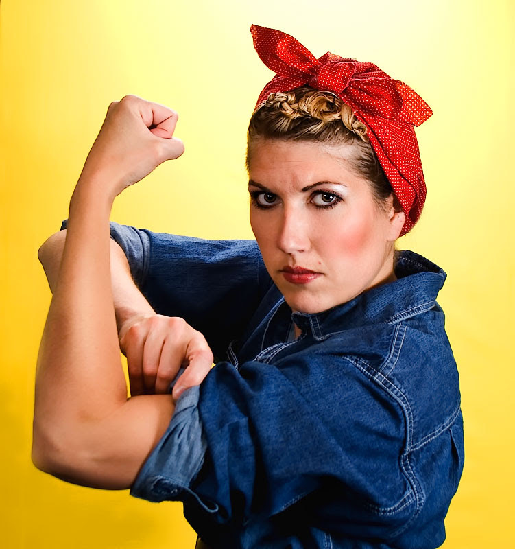 ... hair to tie with how bandana DPChallenge Riveter The Rosie sjhuls ... 3d7f5f4cefe
