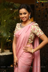 Sri Divya in Saree