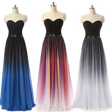 long prom evening dresses wedding party bridesmaid chiffon