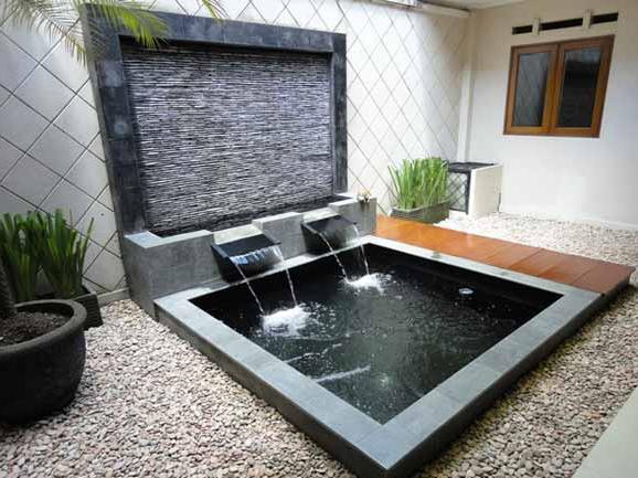 8300 Koleksi Desain Taman Rumah Minimalis Dengan Kolam Ikan Gratis Terbaru