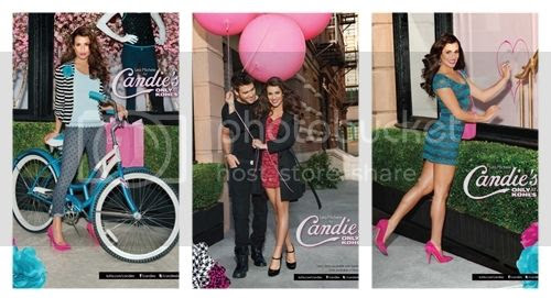 Lea Michele for Candie's Latest Ad Campaign
