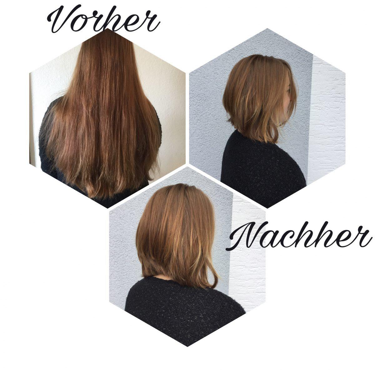 Vorhernachher Salon Brünger Friseur