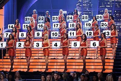 Around five of these babes jinxed Wesley Autrey's chances at winning $1 million on DEAL OR NO DEAL in 2007.