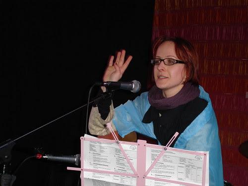 Writer and Muscian Mollie Baxter