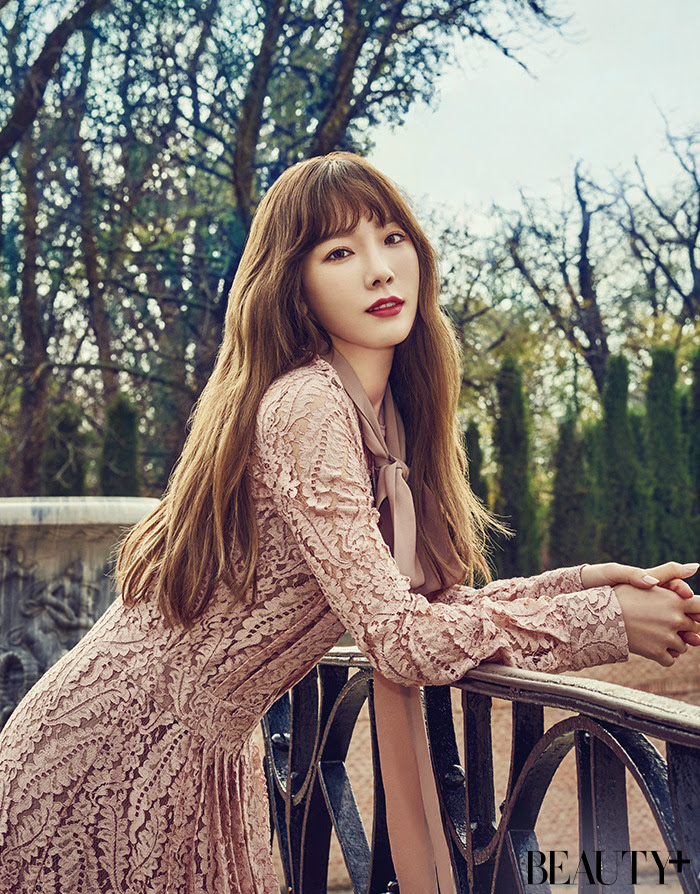 Taeyeon (SNSD) - Beauty+ Magazine February Issue '17