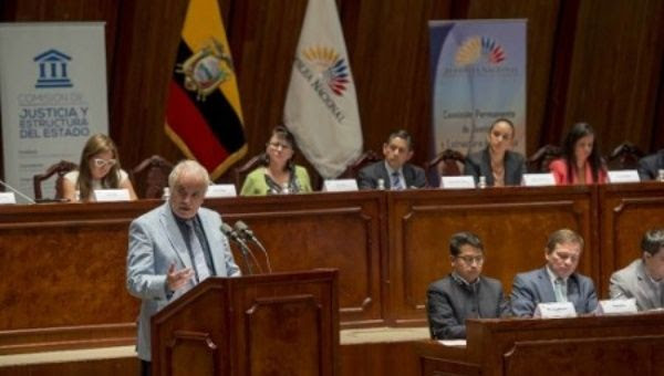 Attorney General briefs the Ecuadorean Parliament on the ongoing investigation