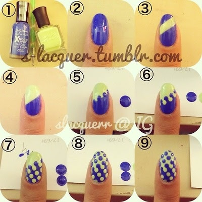 Easy nail art!