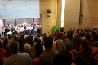 Enfermos psiquiátricos del Infanta Sofía realizan un musical como forma de terapia