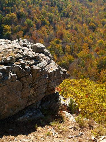Near Hawksbill Crag
