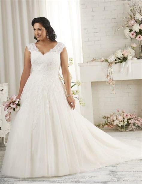 Plus size wedding dress designer   PlusLook.eu Collection