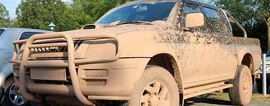 Muddy truck (Thinkstock)