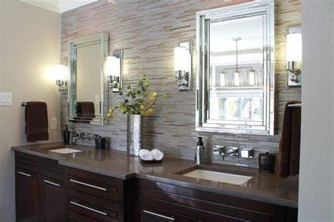 Bahtroom Delicate Modern Bathroom Sconces Making Luminous