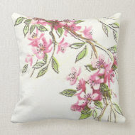 Cherry Blossoms throwpillow