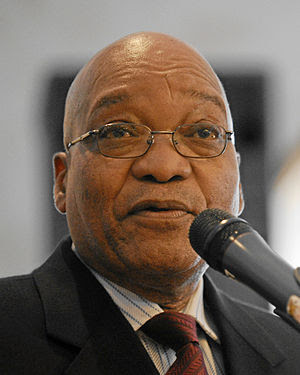 DAVOS/SWITZERLAND, 27JAN10 - Jacob G. Zuma, Pr...