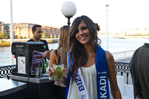 "Izaskun, ganadora de Euskadi del ""Mas bella"" de España Internacional 2013"