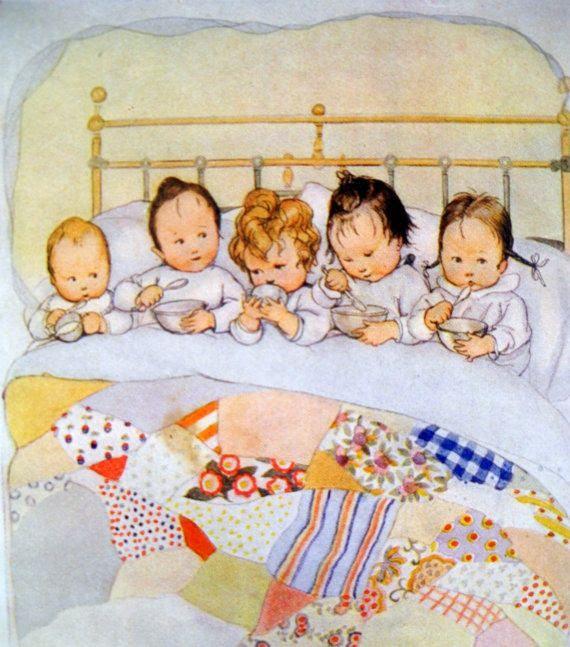 Susan B. Pearce (1878-1980) 'Bedtime Goodnight', 1920s