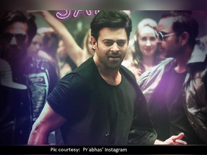 Here's what Prabhas does a day before his film releases - Times of India