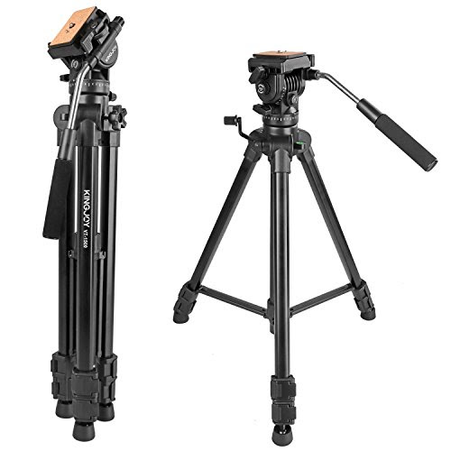 65166cm Fluid Head Tripod Kamisafe Vt 1500 Adjustable Camera