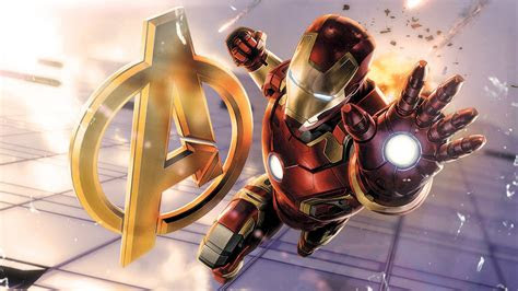 full hd wallpaper iron man art avengers desktop