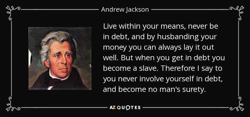 Quote Live Within Your Means Never Be In Debt And By Husbanding Your