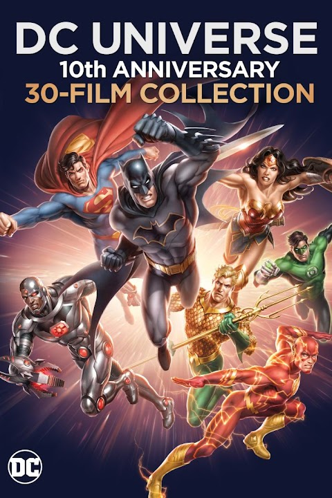 Dc Comics Animated Movies Collection