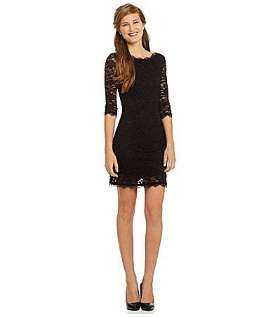 Jump Lace Sheath Dress #Dillards