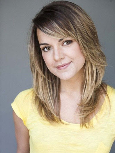 25 + Modern Medium Length Haircuts With Bangs , Layers For Thick Hair & Round Faces - Watch out ...