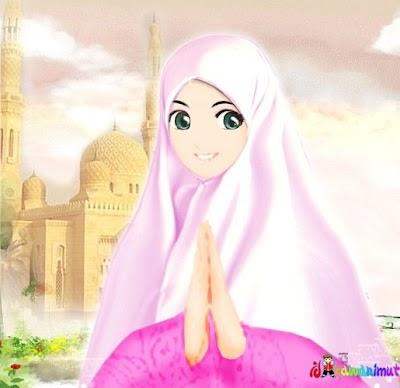 Gambar Kartun Wanita Muslimah Tersenyum 23 Gambar Kartun Muslimah Tersenyum Gambar Kartun Ku
