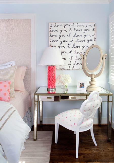 Fabulous Teen Room Decor Ideas for Girls   Decorating Files   #teenroom #teendecor #teenbedroom