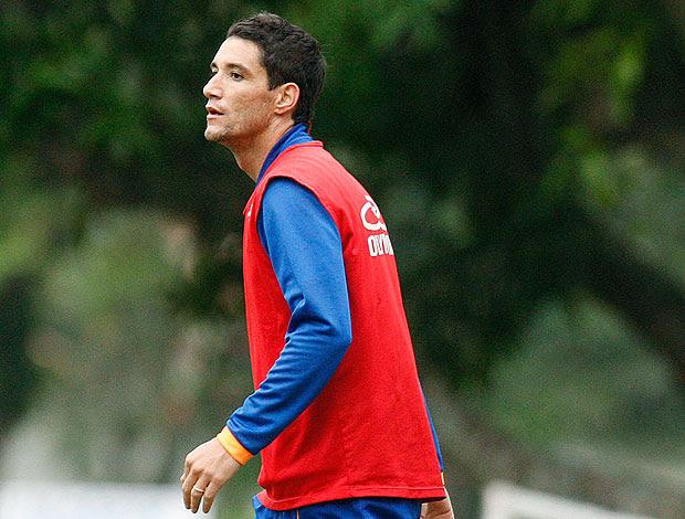 Thiago Neves no treino do Flamengo (Foto: Fábio Borges / VIPCOMM)