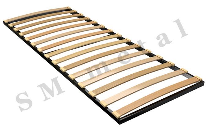 Sigle Frame Slatted Metal Bed Frames