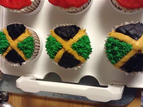 Jamaican Flag cupcakes   Yummy Tummy Stuff in 2019