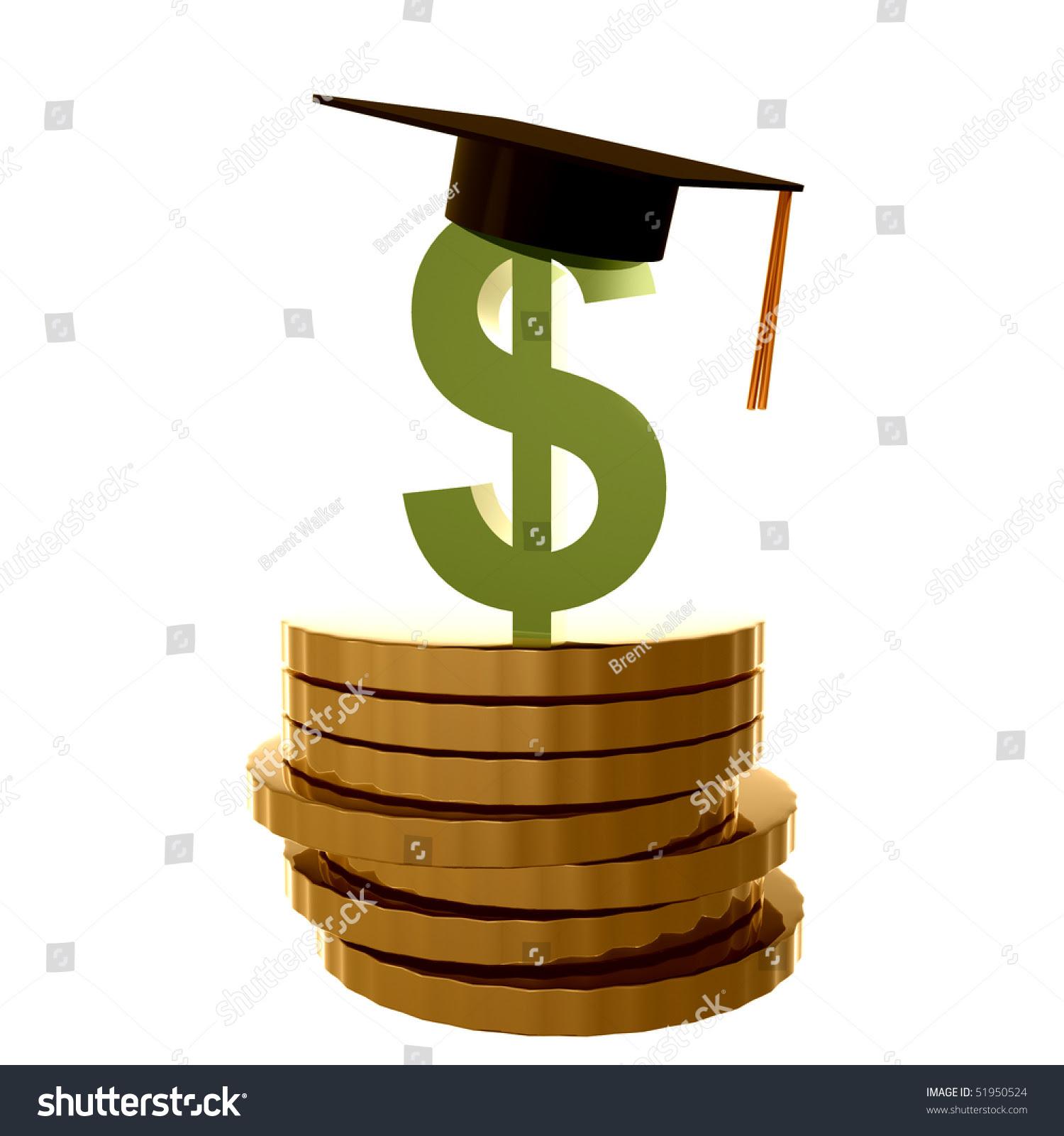 Scholarship Fund Icon Symbol Illustration - 51950524 ...