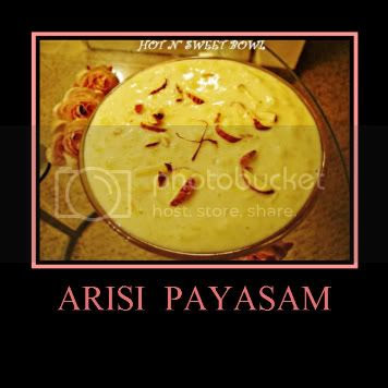 Arisi Payasam